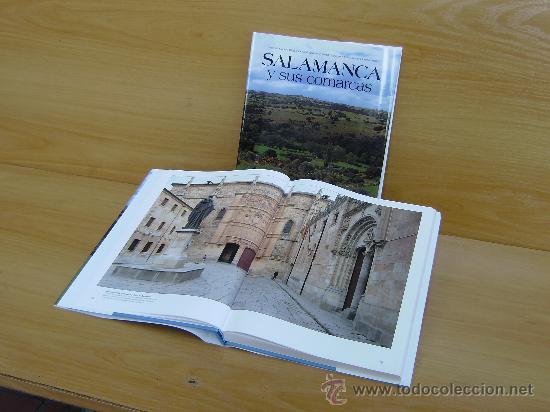Libros de segunda mano: SALAMANCA Y SUS COMARCAS - V. Cabero Diéguez- J.I.Izquierdo Misiego- J.M.Llorente Pinto - Foto 3 - 178152187