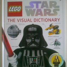 Libros de segunda mano: LEGO STAR WARS. THE VISUAL DICTIONARY. INCLUYE FIGURA DE LUKE SKYWALKER (2009) RAREZA!!. Lote 31929227