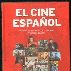 Libros de segunda mano: EL CINE ESPAÑOL. HISTORIA - ACTORES Y DIRECTORES - GENEROS - PRINCIPALES PELICULAS. Lote 32087098