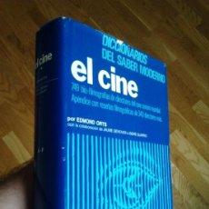 Libros de segunda mano: EL CINE - DICCIONARIO MUNDIAL DE DIRECTORES DEL CINE . TOMO I / EDMON ORTS. Lote 32186631