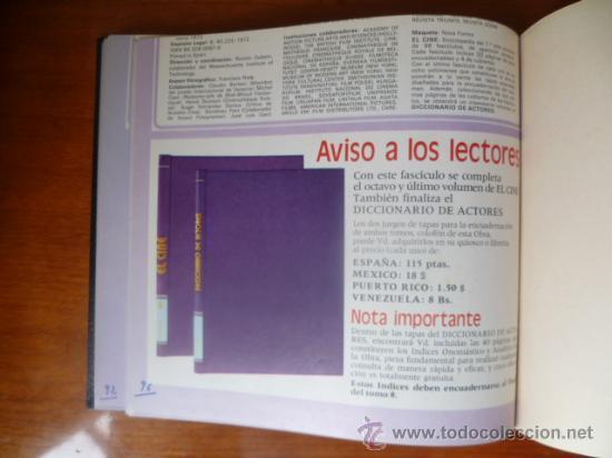 Libros de segunda mano: EL CINE - Foto 9 - 32269076