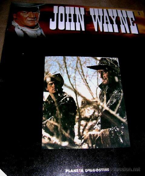Libros de segunda mano: JOHN WAYNE.5 FASCICULOS (nº1º,2º,3º,4º y 6º) PELICULAS WESTERN Edc.PLANETA AGOSTINI. ENVÍO PAGO - Foto 3 - 32720283