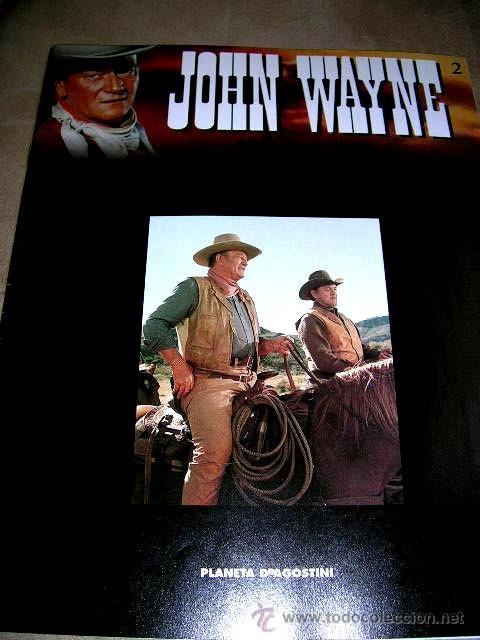 Libros de segunda mano: JOHN WAYNE.5 FASCICULOS (nº1º,2º,3º,4º y 6º) PELICULAS WESTERN Edc.PLANETA AGOSTINI. ENVÍO PAGO - Foto 4 - 32720283