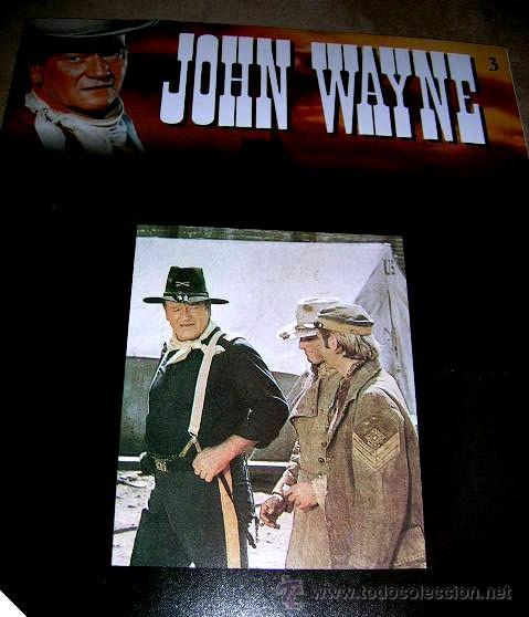 Libros de segunda mano: JOHN WAYNE.5 FASCICULOS (nº1º,2º,3º,4º y 6º) PELICULAS WESTERN Edc.PLANETA AGOSTINI. ENVÍO PAGO - Foto 5 - 32720283