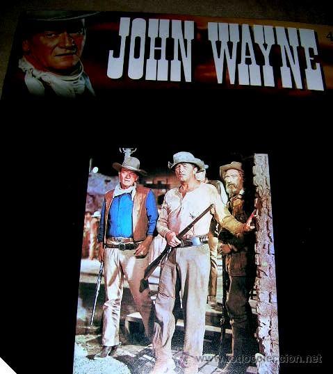 Libros de segunda mano: JOHN WAYNE.5 FASCICULOS (nº1º,2º,3º,4º y 6º) PELICULAS WESTERN Edc.PLANETA AGOSTINI. ENVÍO PAGO - Foto 6 - 32720283