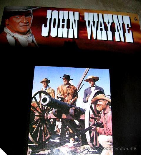 Libros de segunda mano: JOHN WAYNE.5 FASCICULOS (nº1º,2º,3º,4º y 6º) PELICULAS WESTERN Edc.PLANETA AGOSTINI. ENVÍO PAGO - Foto 7 - 32720283