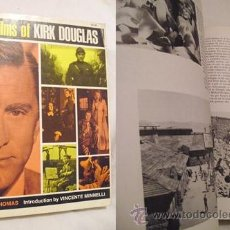 Libros de segunda mano: THE FILMS OF KIRK DOUGLAS. THOMAS TONY. CITADEL PRESS.. NEW JERSEY. 1972. . Lote 3460411