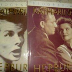 Libros de segunda mano: KATHARINE HEPBURN. ANNE EDWARS. 2 TOMOS.COMPLETA. Lote 33353251