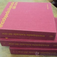 Libros de segunda mano: ENCICLOPEDIA ILUSTRADA DEL CINE. 3 TOMOS ED. LABOR 1969. Lote 33863620