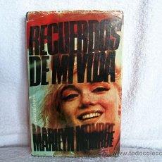 Libros de segunda mano: RECUERDOS DE MI VIDA, MARILYN MONROE. ED. EUROS. (CINE BS1. Lote 34067796