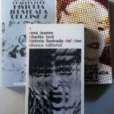 Libros de segunda mano: HISTORIA ILUSTRADA DEL CINE - 3 TOMOS. Lote 34516788