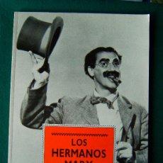 Libros de segunda mano: LOS HERMANOS MARX - DISEÑO ROGER LIGHTFOOT - 45 PRECIOSAS LAMINAS FOTOS CLASICAS - 1991 - 1ª EDICION. Lote 34759592