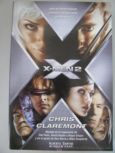 X-MEN 2 (CHRIS CLAREMONT) ALBERTO SANTOS EDITOR (¡OFERTA 3X2 EN LIBROS!) LEER DESCRIPCION (Libros de Segunda Mano - Bellas artes, ocio y coleccionismo - Cine)