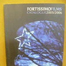 Libros de segunda mano: FORTISSIMO FILMS CATALOGUE 2005 / 2006 (EN CATALAN). Lote 35561188