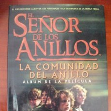 Libros de segunda mano: EL SEÑOR DE LOS ANILLOS ALBUM DE LA PELICULA EDICIONES MINOTAURO. Lote 35593986