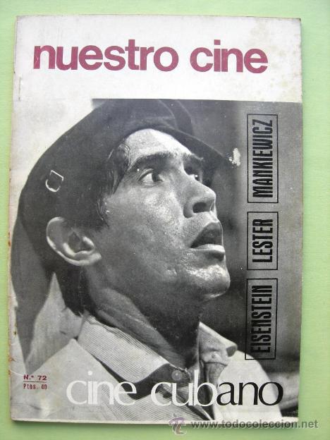 NUESTRO CINE. CINE CUBANO. Nº 72 (Libros de Segunda Mano - Bellas artes, ocio y coleccionismo - Cine)