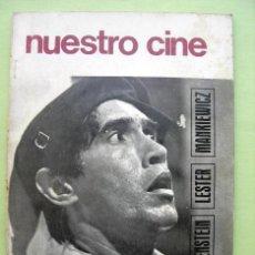 Libros de segunda mano: NUESTRO CINE. CINE CUBANO. Nº 72. Lote 35911825