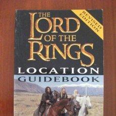 Libros de segunda mano: THE LORD OF THE RINGS LOCATION GUIDEBOOK IAN BRODIE EN INGLES. Lote 36067984