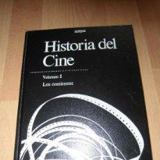 Libros de segunda mano: HISTORIA DEL CINE VOLUMEN I LOS COMIENZOS EDICIONES SARPE 1988. Lote 36512528