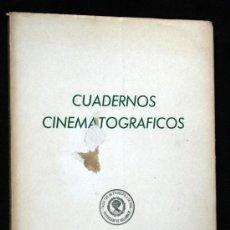 Libros de segunda mano: CUADERNOS CINEMATOGRAFICOS. Nº 1. INGMAR BERGMAN / FRED ZINNEMAN 1968. Lote 36576674