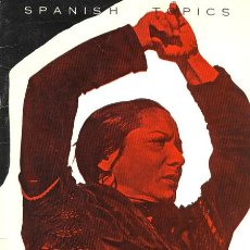 Libros de segunda mano: FERNANDO VIZCAINO CASAS. SPANISH TOPICS. MADRID, 1965. CINE. Lote 37635812
