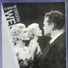 Libros de segunda mano: EL LIBRO DE ORSON WELLES VOLUME 1. PAOLO MEREGHETTI. 95 PÁG.. Lote 38228871