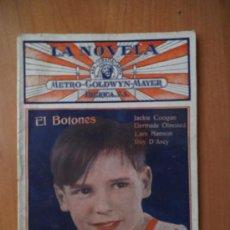 Libros de segunda mano: Nº95.- EL BOTONES .- LA NOVELA .- METRO GOLDWYN MAYER .- IBERICA S.A. Lote 38313437