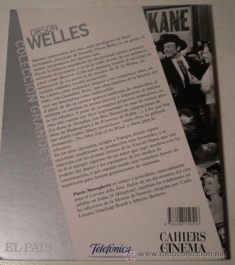 Libros de segunda mano: El libro de Orson Welles - Foto 4 - 38344458