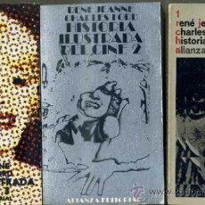 Libros de segunda mano: JEANNE / FORD : HISTORIA ILUSTRADA DEL CINE - TRES TOMOS (ALIANZA, 1974). Lote 38820404