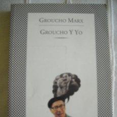 Libros de segunda mano: GROUCHO Y YO, ED. TUSQUETS.. Lote 38842169