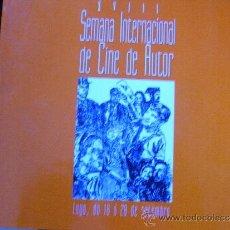 Libros de segunda mano: XVIII SEMANA INTERNACIONAL DE CINE DE AUTOR.. Lote 39107230