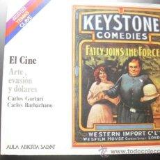 Libros de segunda mano: EL CINE. ARTE, EVASIÓN Y DÓLARES; POR GORTARI Y BARBÁCHANO. COLECCIÓN SALVAT TEMAS CLAVE, 1985.. Lote 39231760