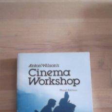 Libros de segunda mano: ANTON WILSON'S CINEMA WORKSHOP. Lote 39419179