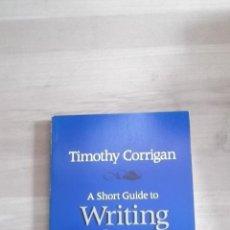 Libros de segunda mano: SHORT GUIDE TO WRITING ABOUT FILM TIMOTHY CORRIGAN. Lote 39419289