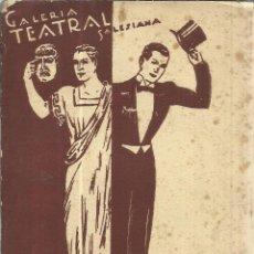 Libros de segunda mano: VADEMECUM DEL ACTOR. JOSÉ BORDAS FLAQUER. LIBRERIA SALESIANA. BARCELONA. 1945. Lote 40258352