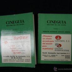 Libros de segunda mano: CINEGUIA DIRECTORIO DEL CINE ESPAÑOL 2 TOMOS TÉCNICOS AGENTES ARTISTAS PRODUCCIÓN EXHIBICIÓN. Lote 40332476