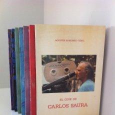 Libros de segunda mano: EL CINE DE...CHOMÓN,CARLOS SAURA,FLORIÁN REY,BORAU Y BUÑUEL.5TOMOS.+ EL SIGLO DE LA LUZ.2TOMOS.. Lote 40852079
