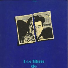 Libros de segunda mano: LOS FILMS DE STAN LAUREL Y OLIVER HARDY-----WILLIAM K. EVERSON. Lote 40896303