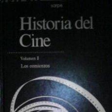 Libros de segunda mano: HISTORIA DEL CINE, VOLUMEN I, LOS COMIENZOS. Lote 41321917