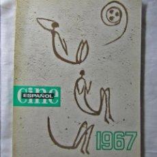 Libros de segunda mano: CINE ESPAÑOL UNIESPAÑA. CATÁLOGO DE LAS PELÍCULAS HECHAS EN 1967. Lote 41468017