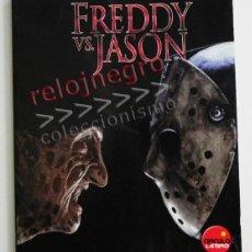 Libros de segunda mano: FREDDY VS JASON - LIBRO GUÍA OFICIAL DE LA PELÍCULA - TERROR CINE - ZACHARY PETERSEN - FOTOS KRUEGER. Lote 41690220