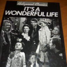 Libros de segunda mano: IT'S A WONDERFUL LIFE, POR MARIE CAHILL - MAGNA BOOKS - HOLLYWOOD CLASSICS - HONG KONG - 1992. Lote 41737772