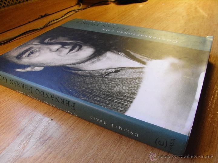 Libros de segunda mano: CONVERSACIONES CON FERNANDO FERNAN GOMEZ - E. BRASÓ - Foto 2 - 42186630