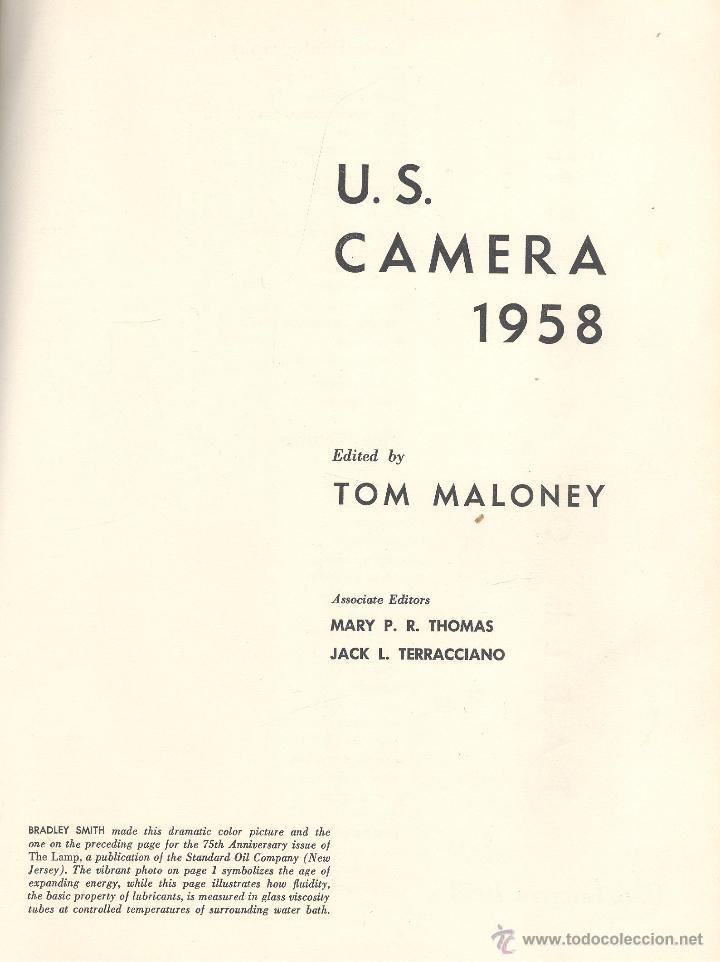 VV.AA. U.S. CAMERA 1958. NUEVA YORK, 1957. CINE (Libros de Segunda Mano - Bellas artes, ocio y coleccionismo - Cine)
