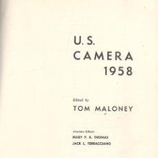 Libros de segunda mano: VV.AA. U.S. CAMERA 1958. NUEVA YORK, 1957. CINE. Lote 42366858