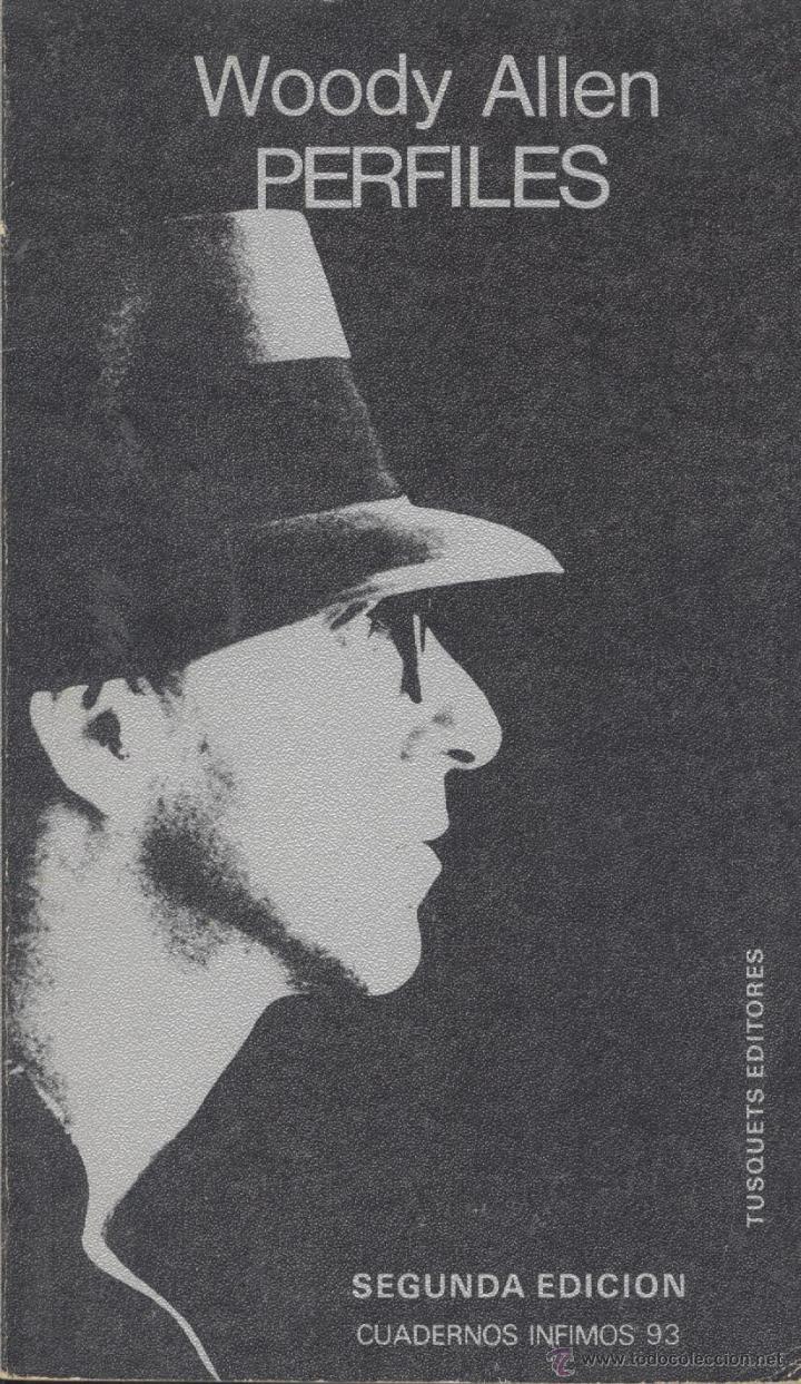 WOODY ALLEN. PERFILES. BARCELONA, 1981. CINE (Libros de Segunda Mano - Bellas artes, ocio y coleccionismo - Cine)