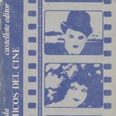 Libros de segunda mano: CÉSAR ARCONADA. TRES CÓMICOS DEL CINE. MADRID, 1974. CINE. Lote 42629152