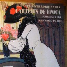 Libros de segunda mano: CARTELES DE EPOCA - PUBLICIDAD Y CINE. Lote 42656740