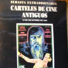 Libros de segunda mano: CARTELES DE CINE ANTIGUOS – SOLER Y LLACH 2001. Lote 42656932