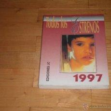 Libros de segunda mano: CINE. TODOS LOS ESTRENOS DE 1997. EDICIONES JC.. Lote 42891449